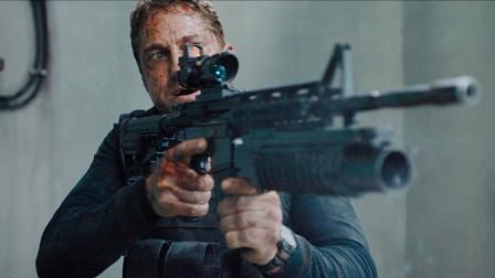 好莱坞动作片,面对多名武装分子袭击,士兵斗智斗勇战胜敌人