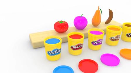 萌娃小可爱动手做一做:做美味水果棒棒糖玩具
