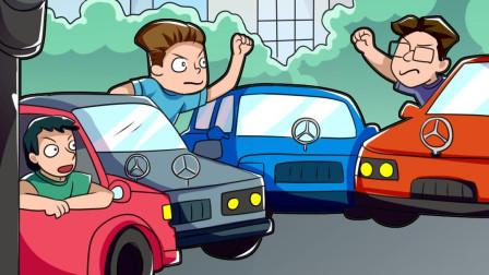 从交通看素质,文明礼让,是每个司机应尽的义务!
