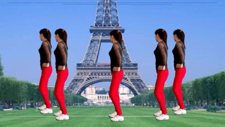 活力瘦身健身操《DJ雪莲》教学版,背面演示,跟着一起甩脂健身吧
