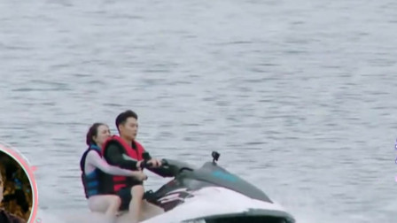 张铭恩抱徐璐下船,手的位置却成为亮点,镜头下还敢这么放肆!