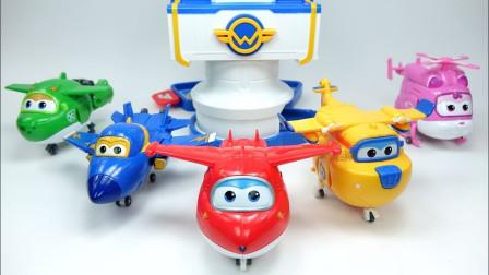 萌宝儿童卡通玩具:超级飞侠集合完毕!向事故目的地出发