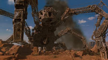 科学家发明巨型蜘蛛机器人,到处破坏城市,科幻电影《飙风战警》