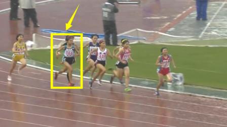 仅差0.02秒!前300米默默无闻,但15女飞人爆发连超4人逆转夺冠