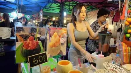 """泰国""""水果西施""""一夜爆红,身材颜值不输网红,全身照却很雷人!"""