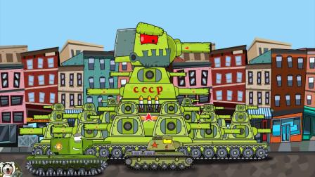 坦克世界动画:是德系还是苏系?外观一样的坦克苏德各一辆!
