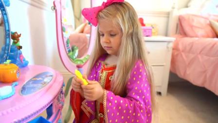 超漂亮!萌娃小可爱和朋友出去玩,最后选了这套衣服,不愧是小公主啊!