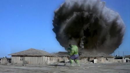 巅峰时刻浩克的战斗力才恐怖 这才是绿巨人该有的血性和块头!