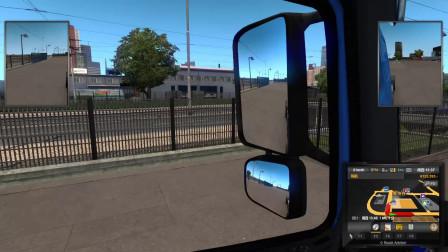 欧洲卡车模拟 EX的周五自驾游 第九集