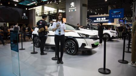 2019广州车展视频评车:东风标致e-2008亮相