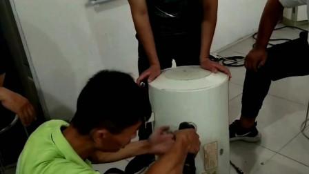 聊城热水器清理水垢培训家电清洗小绿人