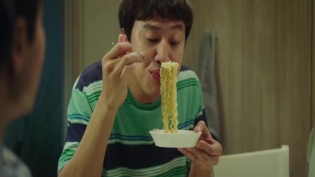 我的一级兄弟:李光洙吃泡面这段看了八次,看一次笑一次,太搞笑