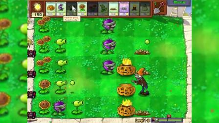 植物大战僵尸游戏 第一季 电脑版 南瓜与火炬