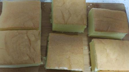 外面卖几十块的古早蛋糕,注意一点,就可以做出Q弹的棉花蛋糕