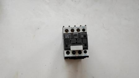 怎么看接触器的额定电流?型号CJX2-1810包含哪些信息?