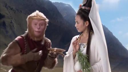 西游记:猴子胆子真大,竟让观音菩萨变妖怪,这对话也太搞笑了