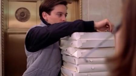 彼得当外卖小哥,要七分钟送达外卖,换上蜘蛛侠战衣贼快