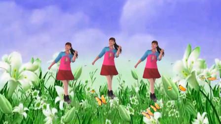 蝴蝶空中飘舞飞美女伴随好优美人人看了都陶醉20步弹跳蝴蝶爱上花
