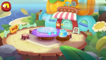 宝宝巴士美食屋—早餐你吃了吗?来奇妙蛋糕店,妙妙做面包和披萨