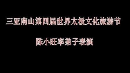 太极气度、太极力量、太极神韵:陈小旺激情演绎太极风范