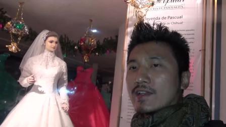冒险雷探长:雷探长夜探墨西哥的僵尸新娘,穿着婚纱栩栩如生,真遇上诡异事件
