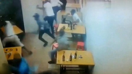 假如没有这个监控,有谁会相信非洲啤酒馆这么危险