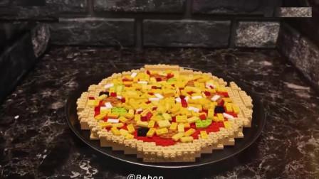 你见过乐高制作美味的披萨吗?精美的定格动画,一起来见识下!