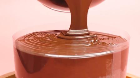 4个巧克力蛋糕的创意做法,太馋人了!