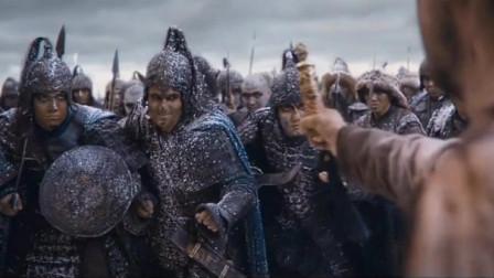 《怒战狂心》:哪怕全军只剩下一人,男子面对大军仍然毫无畏惧,大可汗给予尊重