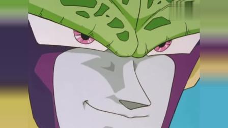 龙珠:悟空的全身围绕着金色火焰!沙鲁也赶紧展现自己的实力!