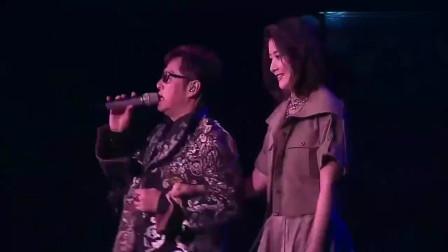 陈慧琳与谭咏麟演唱《雾之恋+花花宇宙》,完美的演绎,陶醉全场