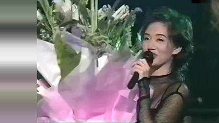 梅艳芳深情演唱《珍惜再会时》,嗓音优美令人沉醉,久久不厌!