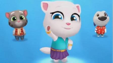 来到漫画世界的汤姆猫又赢宝箱又开飞机,忙的不亦乐乎!我的汤姆猫