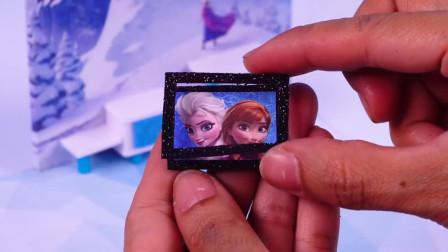 给冰雪奇缘公主做梦幻的迷你房子,做法简单,手工DIY