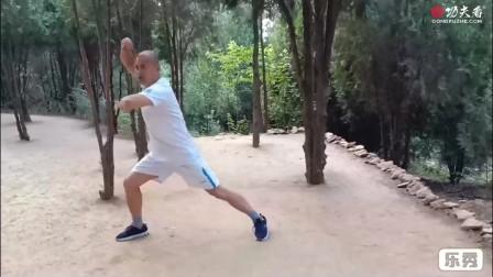 传统武术——弓步盘肘