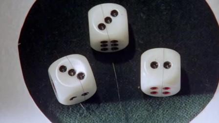 赌神3:骰子还能这样控制?看美女如何用头发出老千,涨知识了!