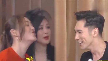 张伦硕第一次见钟丽缇闺蜜,应采儿要法式接吻张伦硕