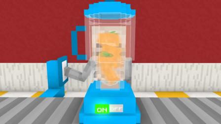我的世界动画-怪物学院-冰沙奶昔挑战-Kefe Animations