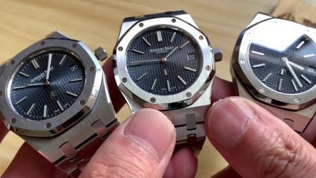 真假对比:XF厂JF厂对比评测正品爱彼皇家橡树15202超薄腕表