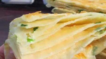 千层葱花饼好吃和面最关键,讲究2揉2饧,做出来比买的还柔软好吃