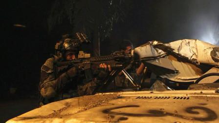 特种兵营救人质中埋伏,遭遇敌方猛火力袭击