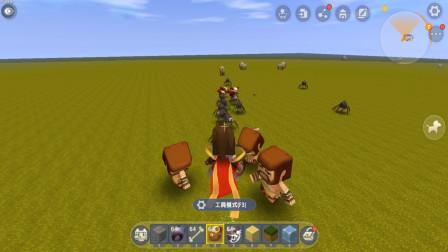 迷你世界飞龙解说:飞龙教您驯服酋长,让它帮你打怪