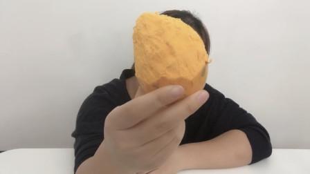 试吃美味的蛋黄果,真的好像在吃蛋黄,但是也太干了吧!