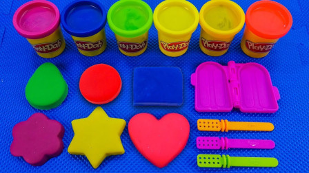 趣味亲子彩泥形状魔力变水果冰淇淋玩具,循环创意萌宝识颜色啦