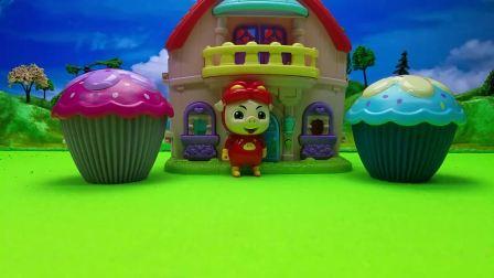 猪猪侠的蛋糕店开业了