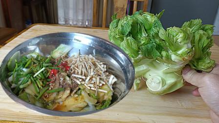 四川这个季节才有的凉菜,儿菜好吃下饭的做法,你别错过
