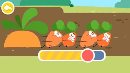 宝宝巴士儿童益智游戏 小萝卜拔大萝卜