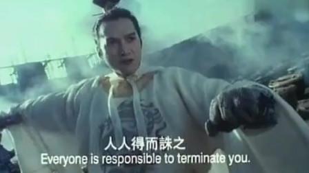 香港电影的巅峰之作,毫无电脑特效,演员想不受伤都难