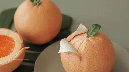 精致的橘子蛋糕,高颜值的外表里,果冻和芝士蛋糕更诱人