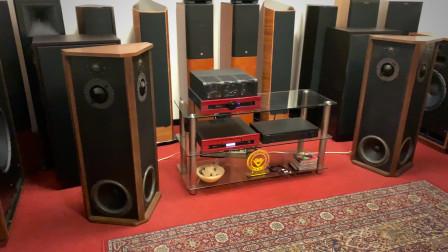 七十年代的老古董美国ALLISON一号落地音箱